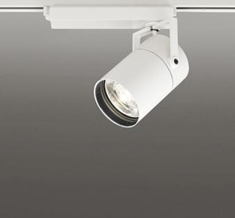 ☆ODELIC LEDスポットライト TUMBLER 高効率タイプ 配線ダクトレール用 CDM-T70W相当 オフホワイト 8° 32VA 電球色 3000K 専用調光リモコン対応(リモコン別売) XS513185BC