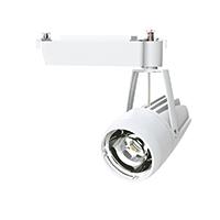 ☆OKAMURA 配線ダクトレール用 LEDスポットライト エコ之助 鮮度クン 40W(セラメタ 70W相当) 遮光タイプ 4000K(白色)相当 Mレンズ 本体色:白 OECD3SHC40(Mレンズ)