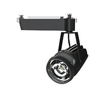 ☆OKAMURA 配線ダクトレール用 LEDスポットライト エコ之助 鮮度クン 40W(セラメタ 70W相当) 光漏れタイプ 4000K(白色)相当 Wレンズ 本体色:黒 OECD4HC40(Wレンズ)