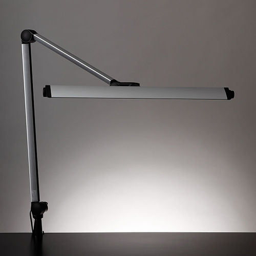 ☆yamada LEDデスクスタンド Z-LIGHT(ゼットライト) FL30W相当 7段階調光 色温度固定型(5000K) クランプタイプ  Z208LEDSL