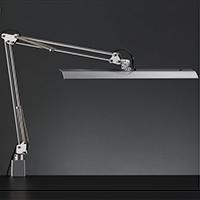 ☆yamada LEDデスクスタンド Zライト 白熱灯150W相当 クランプ式 LED一体型 昼白色 連続調光 本体色:シルバー Z10NSL