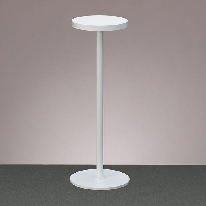 ☆yamada LEDデスクスタンド Zライト 白熱灯60W相当 高演色 光色:白色(4000K) LED一体型 ベースタイプ 本体色:ホワイト(白) ZR1W