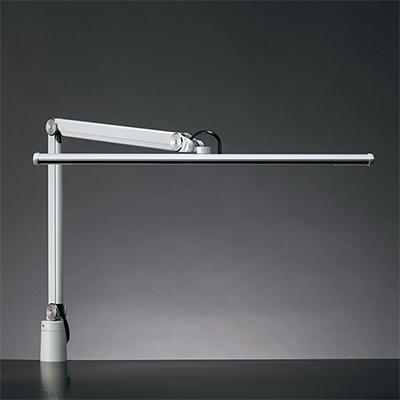 ☆yamada LEDデスクスタンド Zライト LED一体型 白熱灯150W相当 クランプ式 無段階調光 昼白色 本体色ホワイト ZS5000W