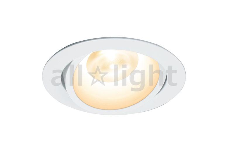 ☆DNライティング LEDダウンライト アルディラシリーズ D-EX13 什器用ダウンライト100V仕様 ユニバーサルタイプ 調光 器具色:ホワイト ビーム角:25° 埋込穴φ75mm 5.0W 280lm 3500K DEX133WB ※受注生産品