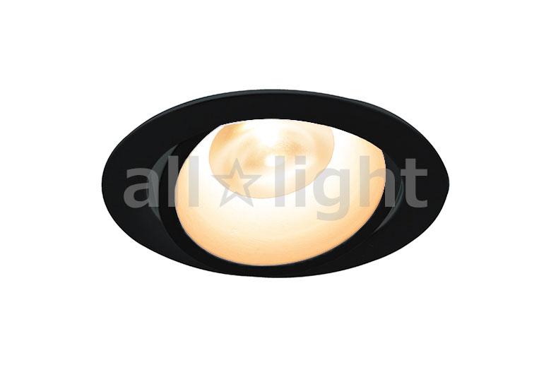 ☆DNライティング LEDダウンライト アルディラシリーズ D-EX13 什器用ダウンライト100V仕様 ユニバーサルタイプ 調光 器具色:ブラック ビーム角:25° 埋込穴Φ75mm 5.0W 270lm 2700K DEX135BB ※受注生産品