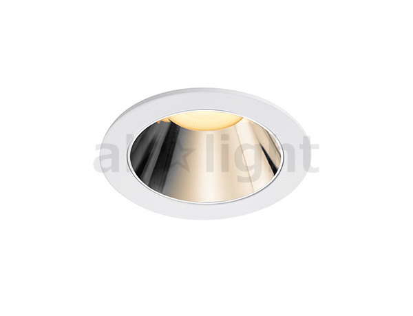 ☆DNライティング LEDダウンライト アルディラシリーズ D-EX14 ダウンライト100V仕様 調光 器具色:ホワイト ビーム角:30° 埋込穴Φ55mm 9.3W 1060lm 3000K DEX144WB ※受注生産品