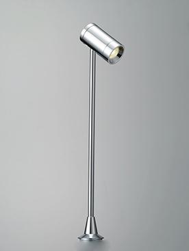 ☆DNライティング LEDショーケースライト GTシリーズ D-EXGT3 高さ200mm 器具色:クローム ビーム角:34° 1.5W 84lm 3000K 電源装置別売 DEXGT34CB ※受注生産品