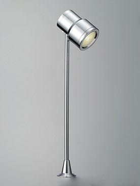 ☆DNライティング LEDショーケースライト GTシリーズ D-EXGT6 非調光 高さ285mm 器具色:クローム ビーム角:26° 2.9W 201lm 3000K DEXGT64CB ※受注生産品
