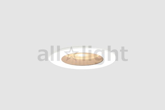 ☆DNライティング LEDダウンライト ミニダウンライト 非調光 バラ配線 器具色:ホワイト ビーム角:32° 埋込穴Φ28mm 7.1W 375lm 2700K SDL8305ALLWW ※受注生産品