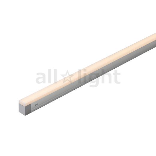 専門店 送料無料 ※一部地域を除く DNライティング 屋内用 代引き不可 Seamlessline LED照明器具 SFL 光源一体型 電源内蔵 温白色 ※受注生産品 スクエア型カバー 本体寸法1169mm コンパクト型 3500K SFL1169WWS
