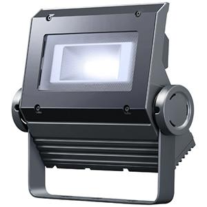 ☆岩崎 LEDioc FLOOD NEO(レディオック フラッド ネオ) LED投光器 40クラス 超広角タイプ 昼光色(6500K)タイプ 本体色:ダークグレイ LED一体形 ECF0495DSAN8DG