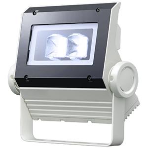 ☆岩崎 LEDioc FLOOD NEO(レディオック フラッド ネオ) LED投光器 40クラス 広角タイプ 白色(4000K)タイプ 本体色:ホワイト LED一体形 ECF0496WSAN8W