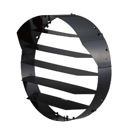 ☆東芝 LED投光器用オプション フード付ルーバー (2kW形、1.5kW形、1kW形共通) ZL50401F ※受注生産品