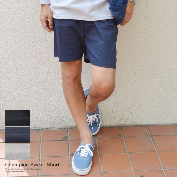 0dcaa69cc153 This is gym shorts with the one point logo of the CHAMPION (champion)  constant seller.