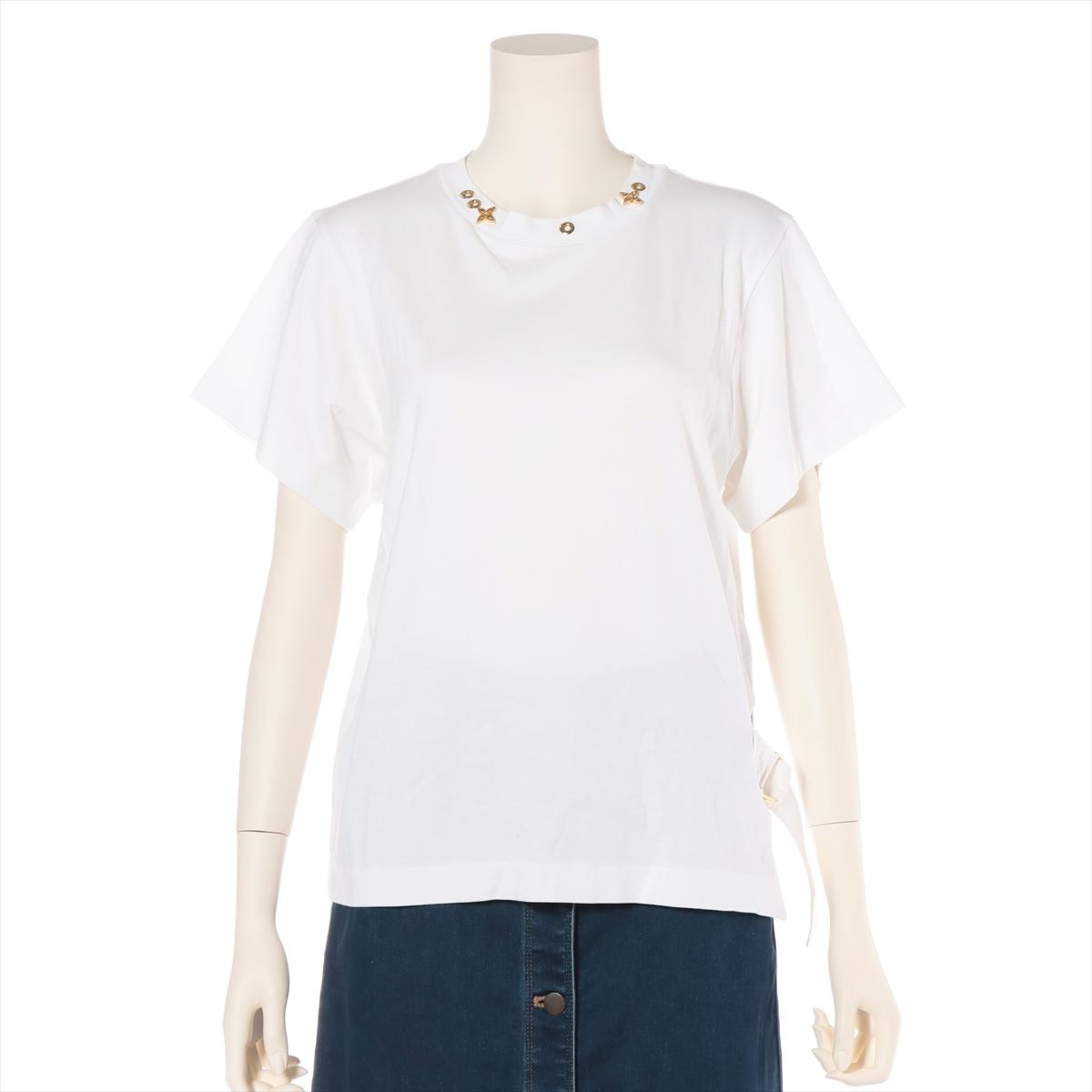 中古 ヴィトン 海外 RW191W コットン ホワイト レディース Tシャツ M 格安 価格でご提供いたします