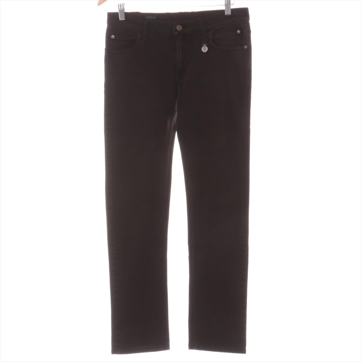中古 《週末限定タイムセール》 グッチ コットン×ポリウレタン デニムパンツ 44 裾上げあり グレー メンズ ストアー