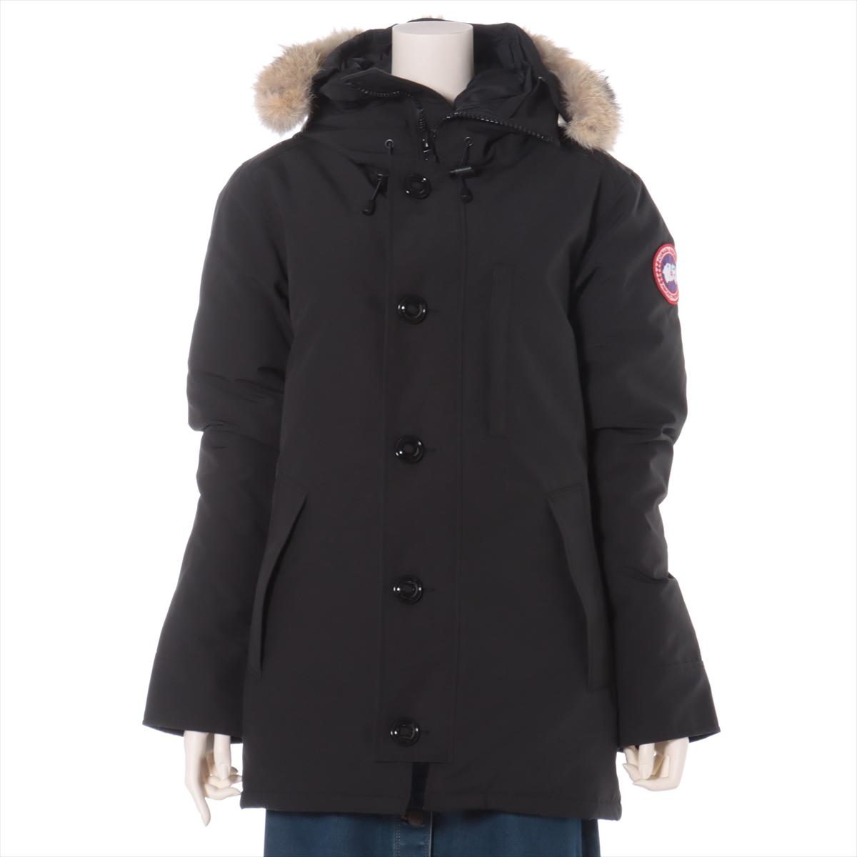 即納 中古 カナダグース 格安 価格でご提供いたします CHATEAU コットン×ポリエステル ダウンジャケット S ブラック メンズ 3426MA フュージョン サザビー