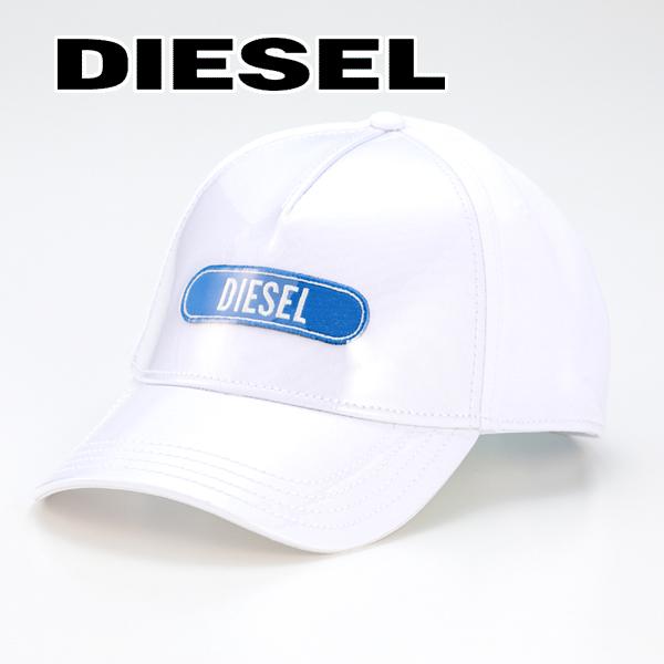 2019春夏モデル[ディーゼル]DIESEL キャップ(ホワイト) DS-416 【デザイン 帽子 メンズ プレゼント父の日バレンタインクリスマス】【あす楽対応_関東】
