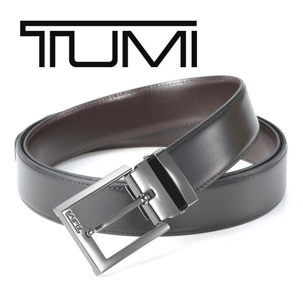 [トゥミ]TUMI リバーシブルベルト(ピンタイプ) TM-324 【TUMIベルト トゥミベルト メンズ ブランドベルト レザーベルト】【あす楽対応_関東】