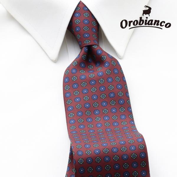 [オロビアンコルニーク]OROBIANCO L'UNIQUE ネクタイ OBJ-037 【あす楽対応_関東】