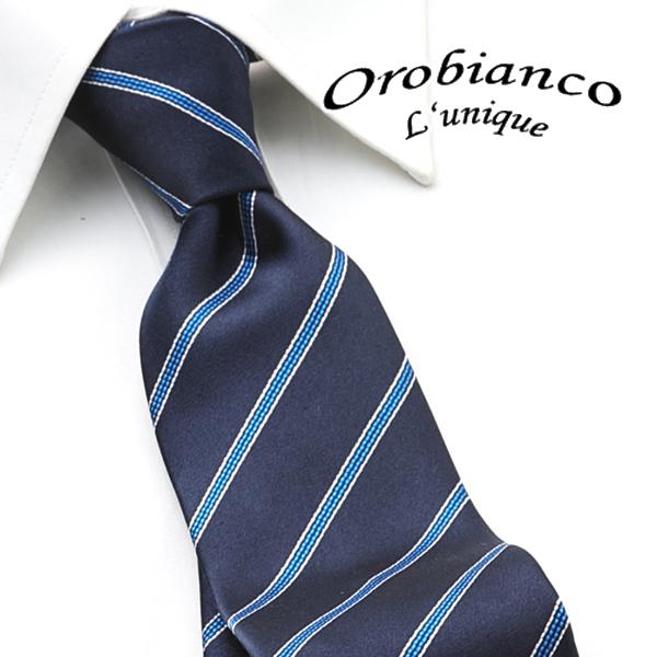 [オロビアンコルニーク]OROBIANCO L'UNIQUE ネクタイ OBJ-054 【ネクタイブランド ネクタイ ブランド ねくたい結婚式「オロビアンコルニーク OROBIANCO L'UNIQU」プレゼント就活結婚式】