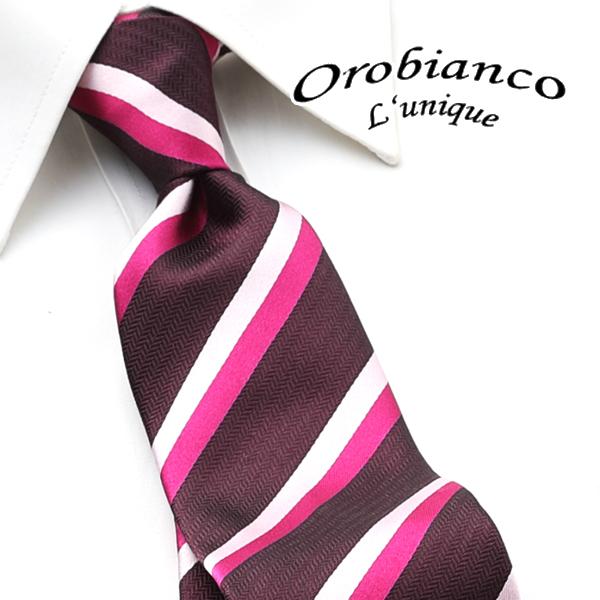 [オロビアンコルニーク]OROBIANCO L'UNIQUE ネクタイ OBJ-061 【ネクタイブランド ネクタイ ブランド ねくたい結婚式「オロビアンコルニーク OROBIANCO L'UNIQU」プレゼント就活結婚式】