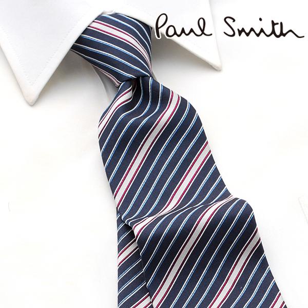 ケース� シルク ネクタイ ギフト イタリア製 ドット ポールスミス [6/20 追加入荷] ビジネス Paul Smith メンズ 結婚式