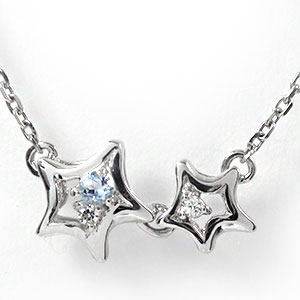 10/4 20時~ ブレスレット 流れ星 10金 ダイヤモンド アクアマリンブレス 送料無料 買い回り 買いまわり