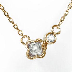 ブレスレット ダイヤモンド 誕生石 華 花 フラワー 18金 カラーストーン【送料無料】