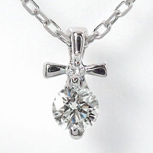 9日20時~16日1時まで クロス ダイヤモンド ネックレス 10金 十字架 優しい ペンダント ゴールド GOLD プレゼント ギフト 母の日 4月 誕生石 キャッシュレス ポイント還元 買いまわり 買い回り