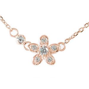 5月16日1時まで ネックレス ダイヤモンド 誕生石 華 流れ星 18金 カラーストーン プチペンダント【送料無料】 買いまわり 買い回り