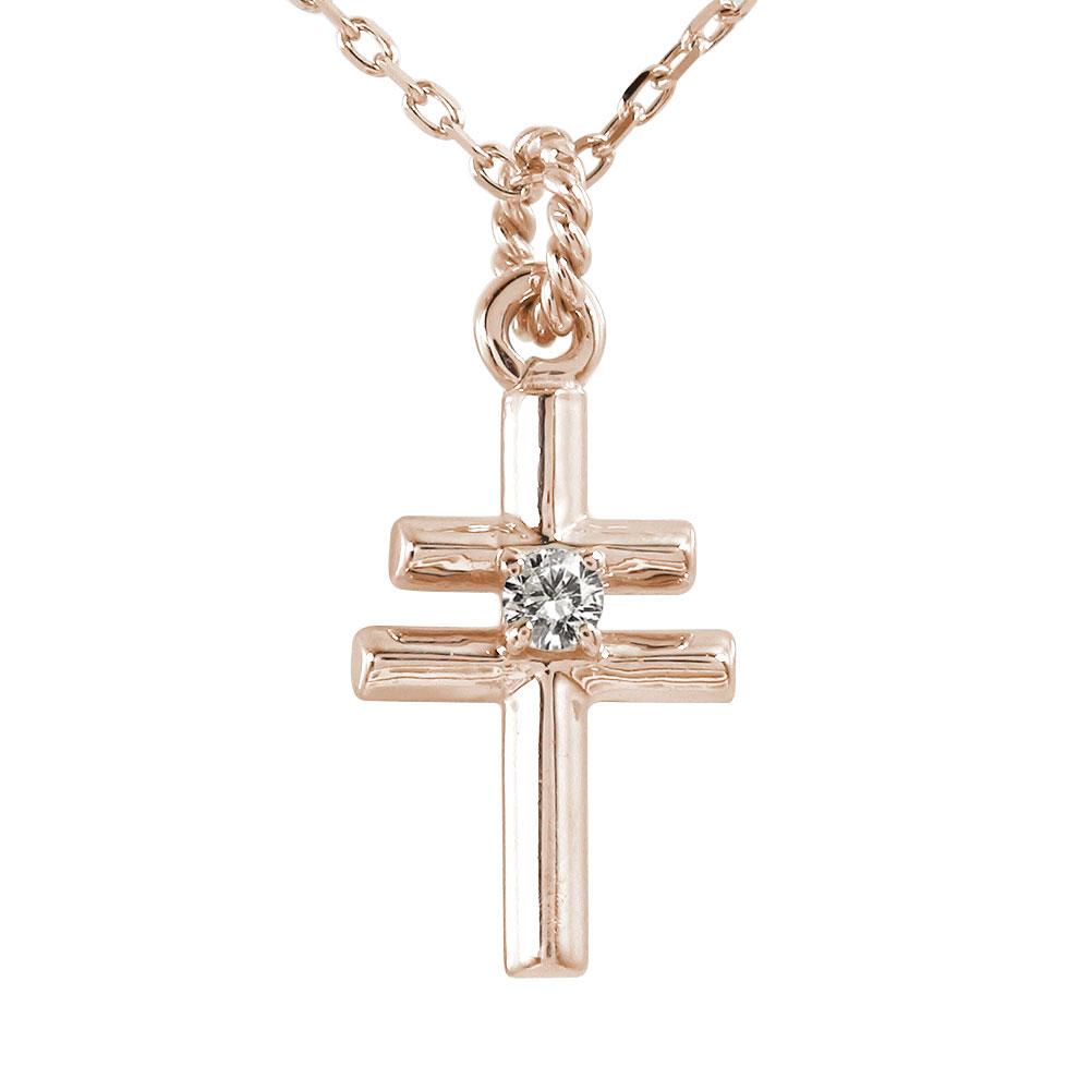 ダイヤモンド インディアン クロス ネイティブ ダブル ネックレス 18金 ダイヤモンド カラーストーン ペンダント【送料無料】