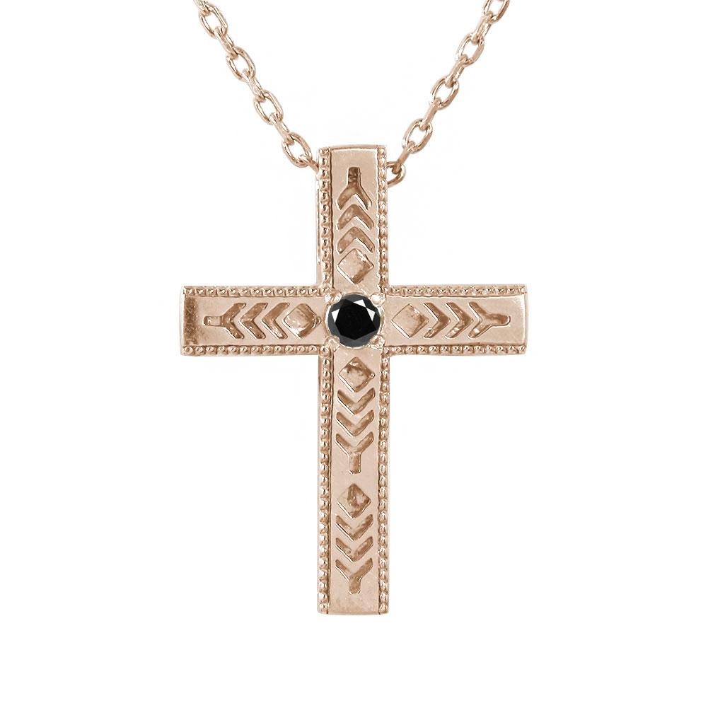 インディアン ネックレス シルバー925 ネックレス ダイヤモンド ブラックダイヤモンド クロス 十字架 美しい羽根 羽 フェザー メンズ ペンダント sv SILVER ジュエリー【送料無料】