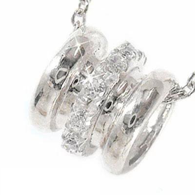 ダイヤモンド ネックレス チャーム k10ホワイトゴールド k10WGペンダント バレル ユニセックス 誕生日 2019 記念日 母の日 プレゼント 首飾り 4月 誕生石 キャッシュレス ポイント還元