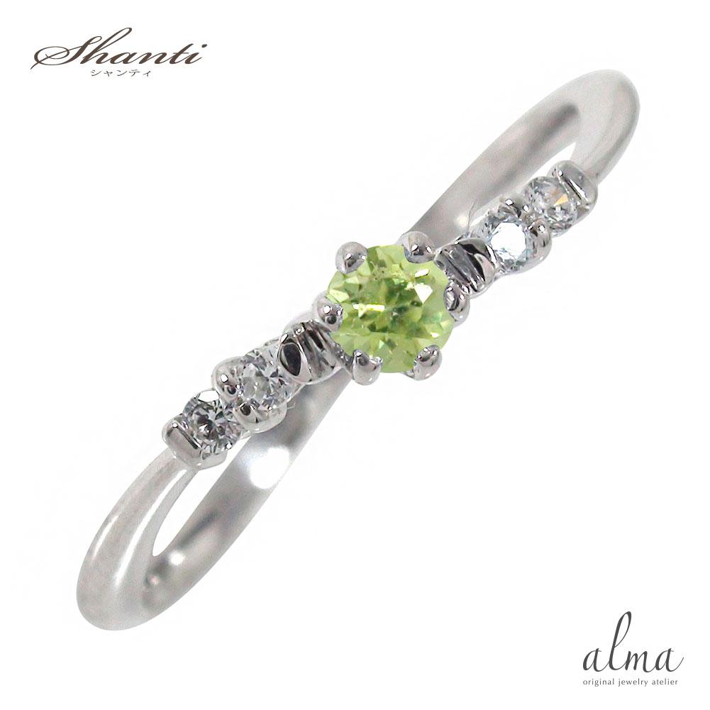 21日20時~28日1時まで プラチナ 流れ星リング ペリドット 指輪 ピンキーリング ギフト 贈り物 母の日 プレゼント 自分へのご褒美に 大切な方に【送料無料】 買いまわり 買い回り