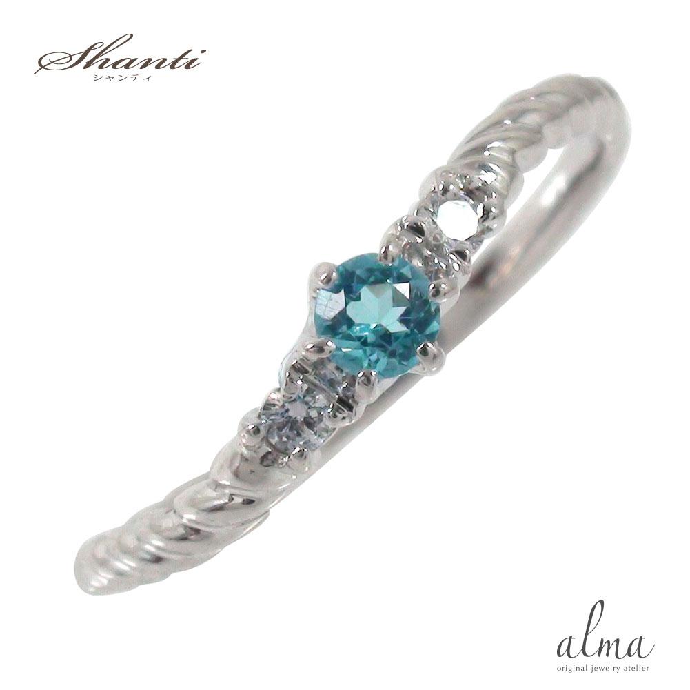 10/4 20時~ ブルートパーズリング 誕生石 10金 指輪 ピンキー 流れ星 スパイラルリング ギフト 贈り物 母の日 プレゼント 誕生日 自分へのご褒美に 送料無料 買い回り 買いまわり