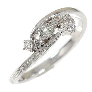 21日20時~28日1時まで ダイヤモンド リング プラチナ 北斗七星 ピンキー グラン・シャリオ ミル 指輪 星座 誕生石【送料無料】 買いまわり 買い回り