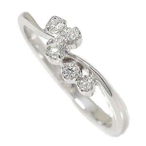 【送料無料】ダイヤモンド リング プラチナ 天使の矢 ピンキー 流れ星 結婚指輪 婚約指輪 エンゲージリング 誕生石