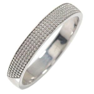 リング プラチナ マリッジリング ミルグレイン 結婚指輪 指輪 地金 レディース 送料無料