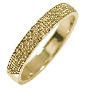 10/4 20時~ マリッジリング 10金 ミルグレイン 結婚指輪 指輪 地金 メンズ 送料無料 買い回り 買いまわり