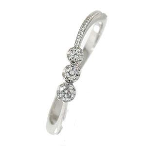 【送料無料】ダイヤモンド リング プラチナ 彗星 ピンキー コメット 結婚指輪 婚約指輪 エンゲージリング 誕生石
