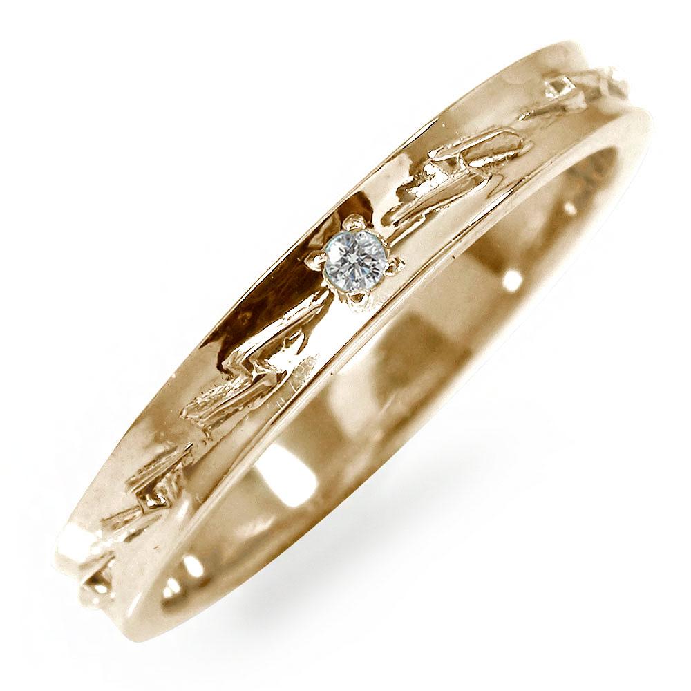 21日20時~28日1時まで インディアンジュエリー ネイティブアメリカン 10金 誕生石 ピンキーリング ダイヤモンド 稲妻 サンダ― 大人 エタニティ 指輪 買いまわり 買い回り