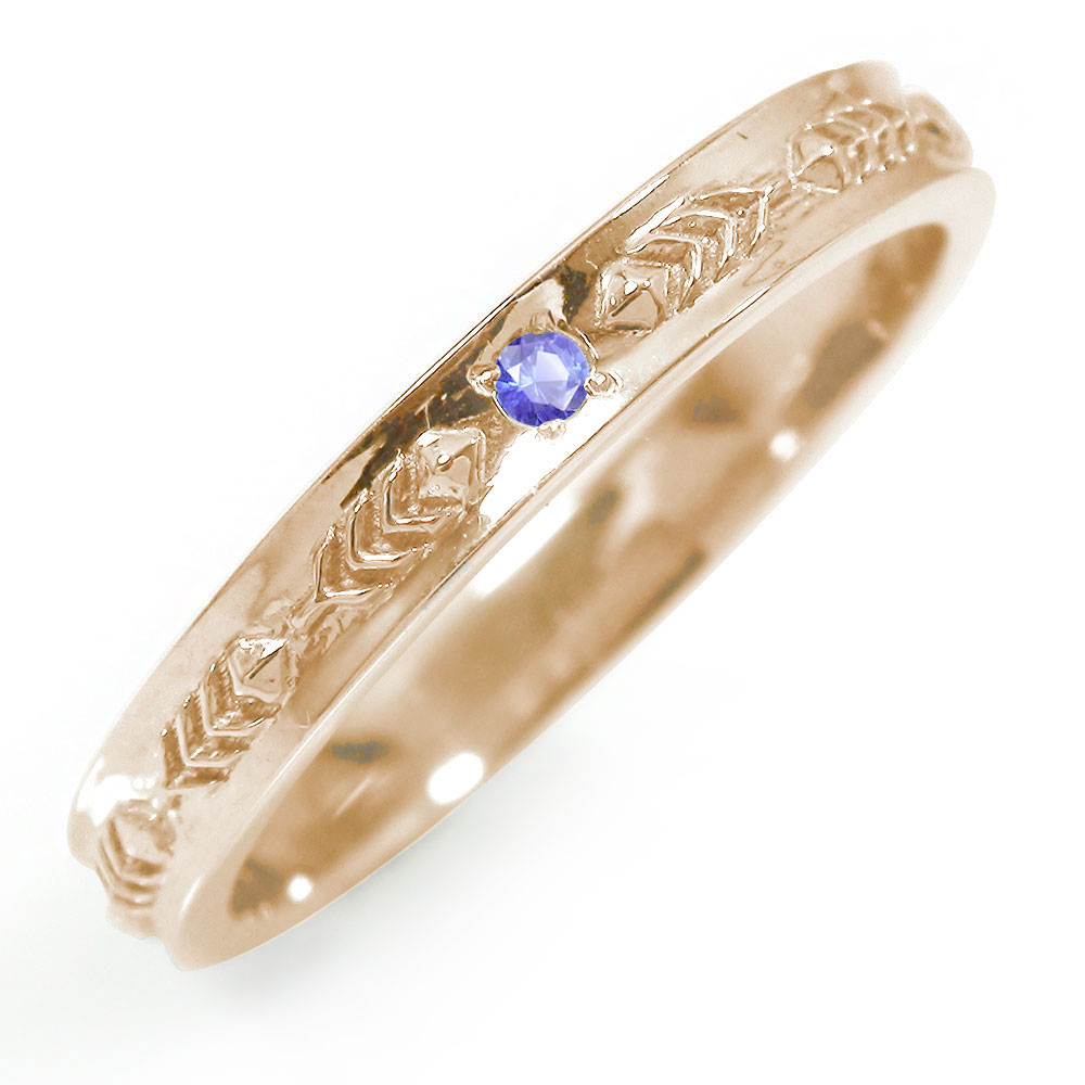 10/4 20時~ インディアンジュエリー ネイティブアメリカン ピンキーリング 羽根 フェザー 大人 エタニティ 指輪 10金 サファイア 誕生石 買い回り 買いまわり