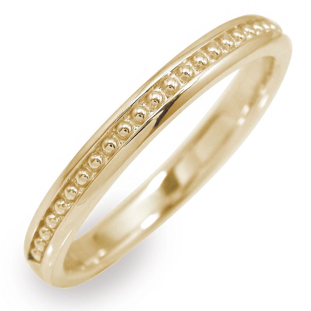 10/4 20時~ メンズリング 指輪 地金 男性用 10金 イエローゴールド ミル 送料無料 買い回り 買いまわり