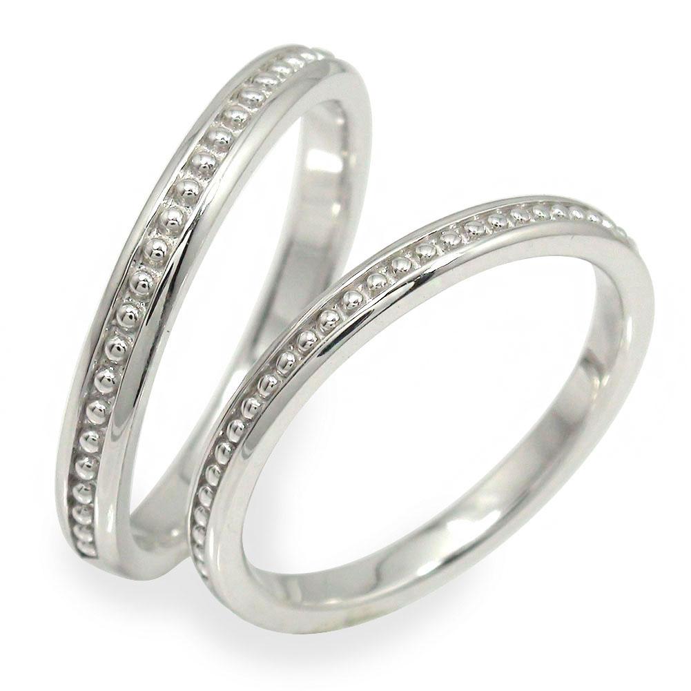 9日20時~16日1時まで プラチナ ペアリング マリッジリング 指輪 誕生石 2本セット 結婚指輪 レディース メンズ セット価格 ミル 【送料無料】 買いまわり 買い回り
