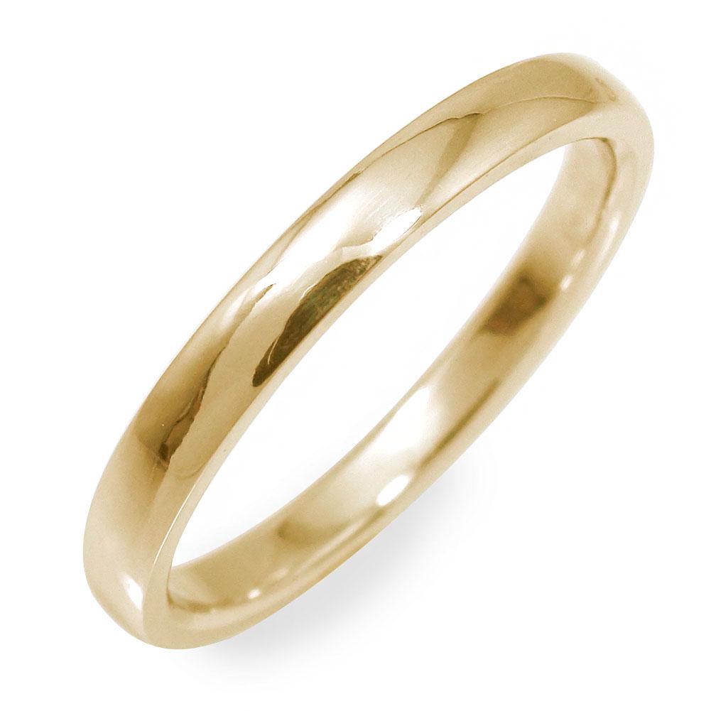9日20時~16日1時まで メンズリング 甲丸リング指輪 地金 男性用 10金 イエローゴールド 送料無料 キャッシュレス ポイント還元 買いまわり 買い回り
