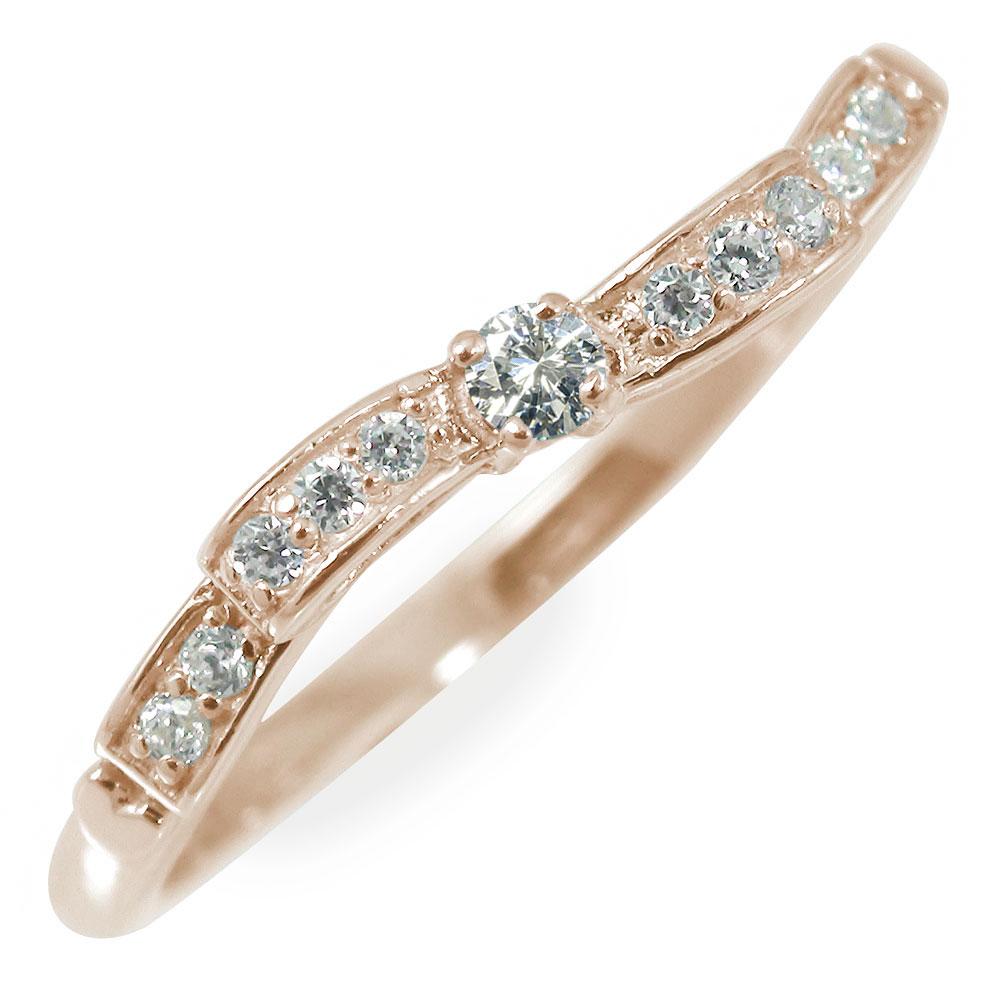 21日20時~28日1時まで ダイヤモンド ウェーブ リボンモチーフ 結ぶ 指輪 レディース カラーストーン リング ミディリング ファランジリング レディース アクセ 贈り物 ギフト 結婚記念日 送料無料 キャッシュレス ポイント還元 買いまわり 買い回り