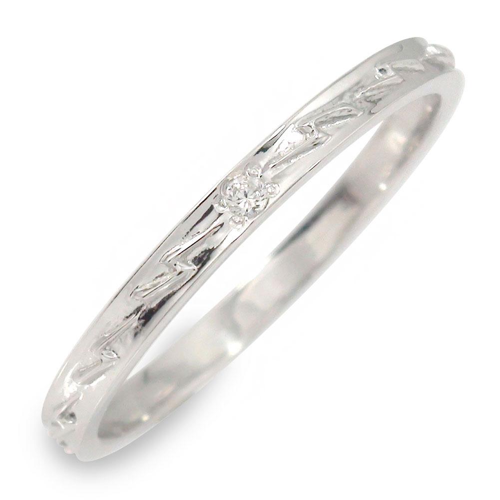 21日20時~28日1時まで ダイヤモンド ホワイトゴールド 指輪 18金 サンダー【送料無料】 買いまわり 買い回り