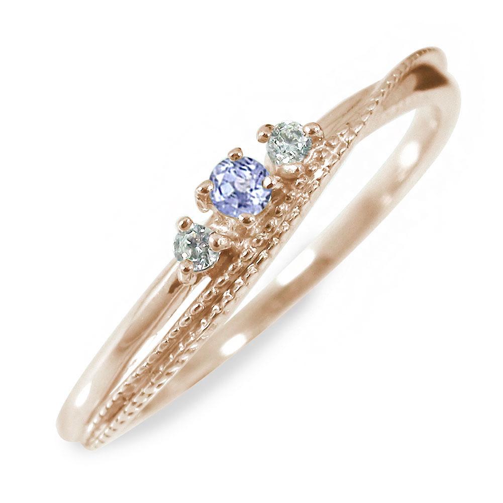 10/4 20時~ タンザナイト 18金 リング 誕生石 指輪 送料無料 買い回り 買いまわり