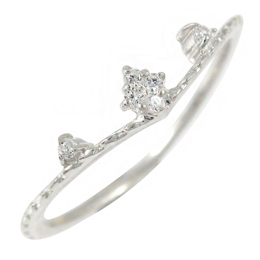 21日20時~28日1時まで プラチナ ダイヤモンド リング 指輪 ミル ひし形【送料無料】 買いまわり 買い回り